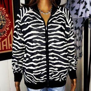NWT Joan Vass Sweater Jacket